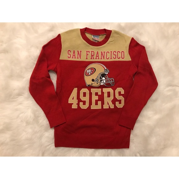 low priced 9ae5d bca46 San Francisco 49ers sweater